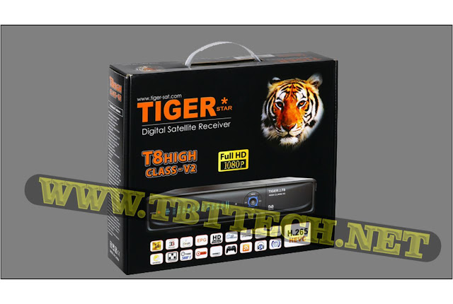 Tiger T8 High Class V2, Software New Update V3.77, Tiger T8 High Class V2 Hd Software Latest update 2020,