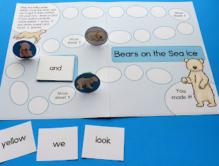 https://www.teacherspayteachers.com/Product/Bears-on-the-Sea-Ice-Sight-Word-Game-1600295