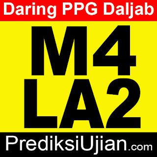 Jawaban PPG Daljab Formatif M4 LA2