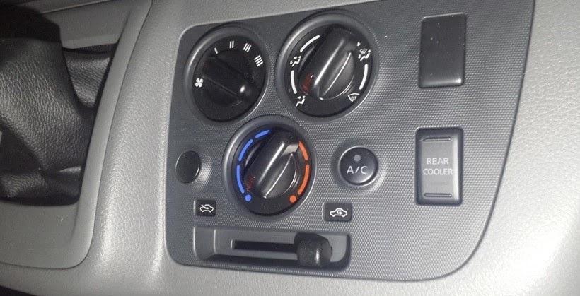 Car ac blower fan setting.