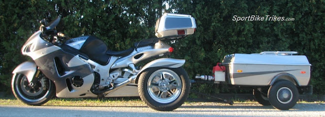 Motorcycle Trike trailer hitches for trike conversion kits