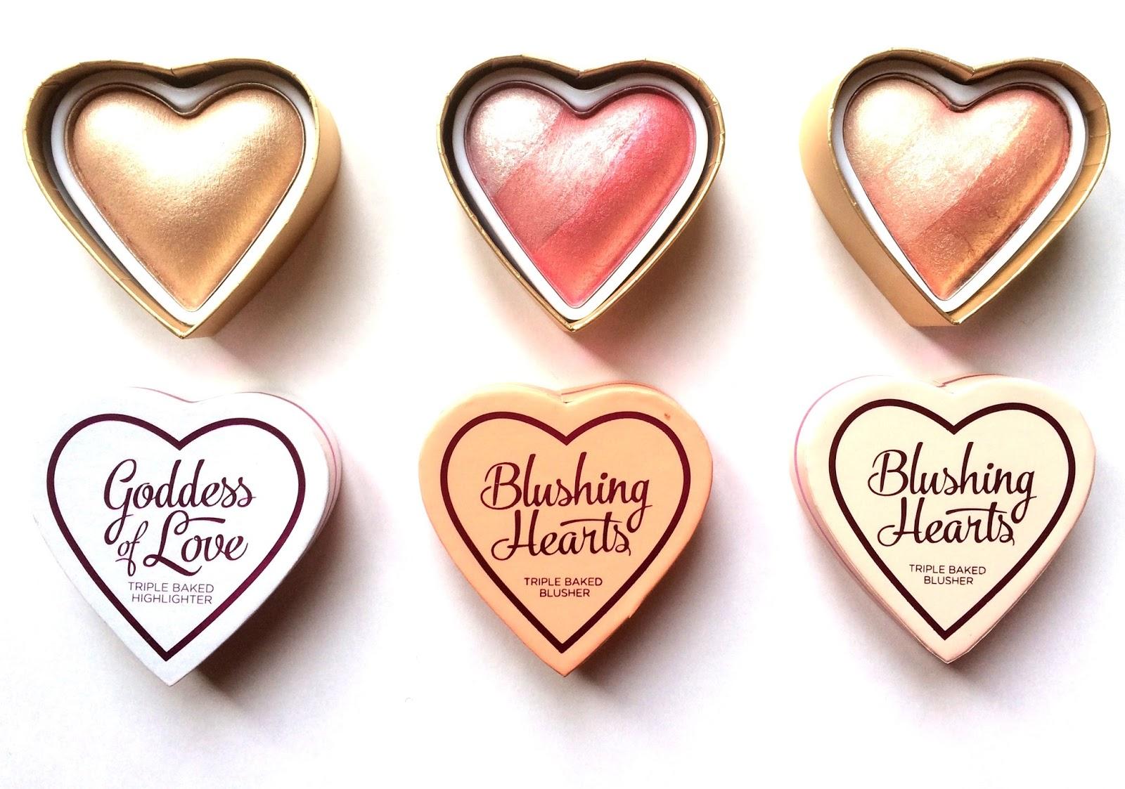 I Love Makeup Blushing Hearts Review Saubhaya Makeup