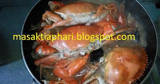 resep kepiting rebus