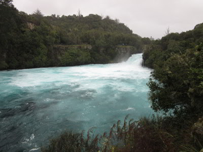 Huka Falls Trail, Taupo, Nueva Zelanda