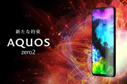 Kecanggihan Sharp Aquos Zero 2 dan Aquos R3 Layar pertama 240 HZ