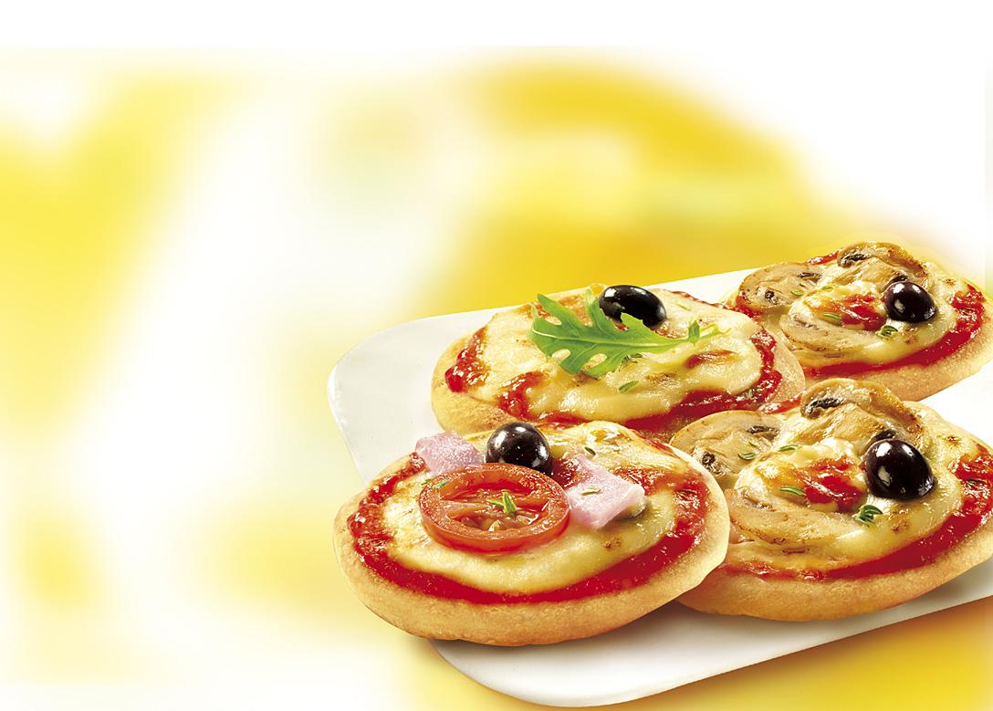 ميني بيتزا القطايف