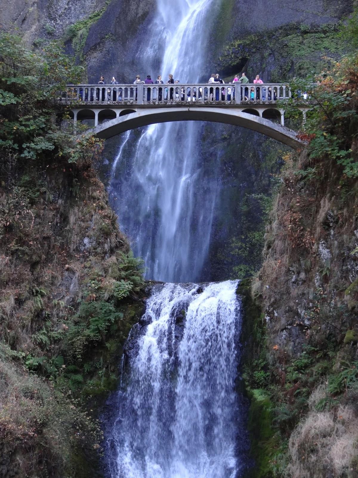 Multnomah Falls Oregon Winter Wallpaper Travel Trip Journey Multnomah Falls Oregon Usa