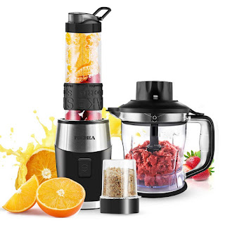 Smoothie Blender, High-Speed Personal Blender for Smoothies and Ice Shakes,