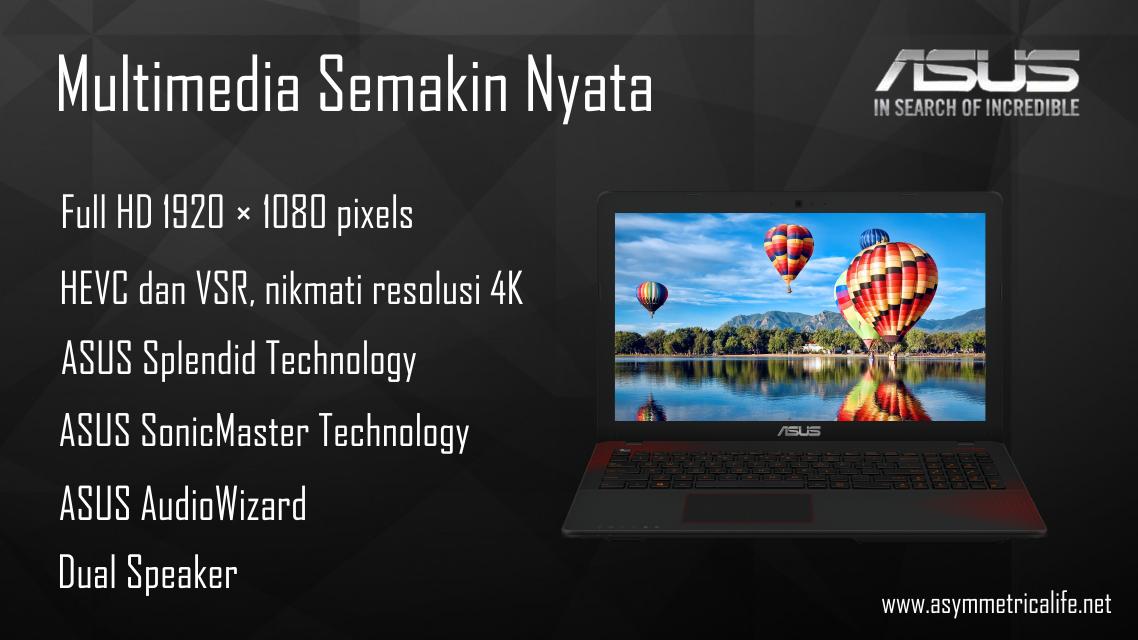 Multimedia ASUS X550IK