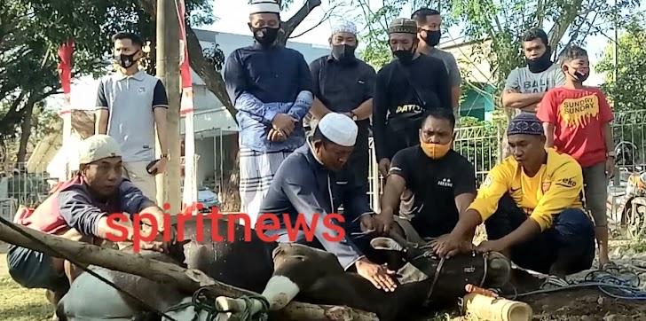 Rayakan Idul Adha 1441 H, Polres Takalar Sembelih 18 Ekor Hewan Qurban
