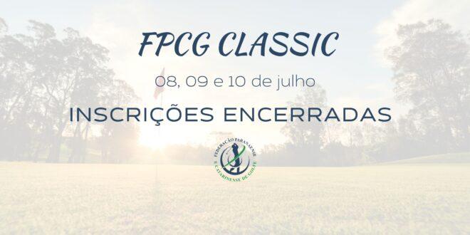 FPCG CLASSIC – Inscrições encerradas com mais de 500 golfistas inscritos
