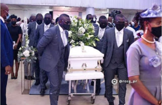 Adeboye Son Pastor Dare Laid To Rest Today (Photos)