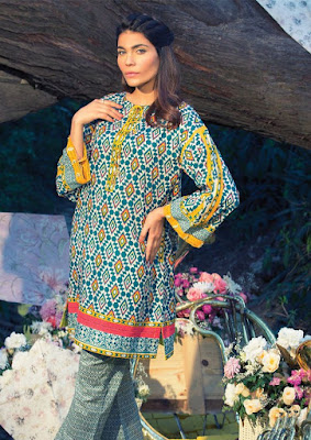 alkaram summer collection 2017 lawn prints for girls