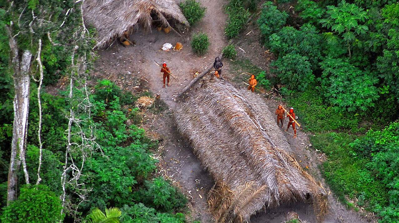 Remote surveillance to monitor 'uncontacted' Brazilian tribes