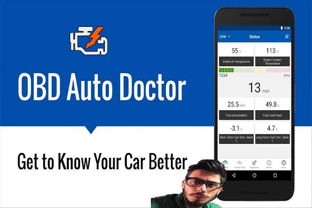 تنزيل برنامج تشخيص السيارات OBD الطبيب التلقائي  OBD Auto Doctor للأندرويد