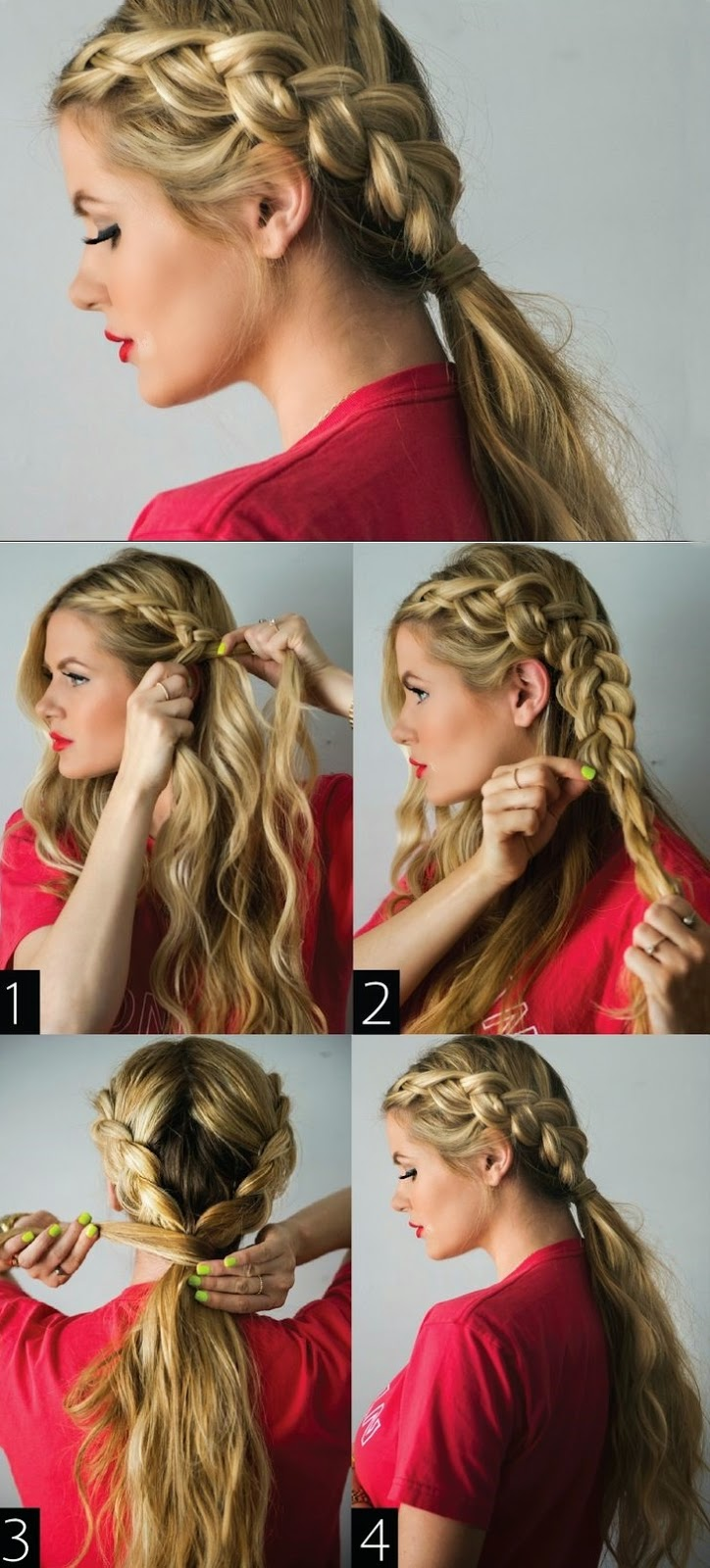 Top 5 Random Hair Tutorial For Women's 2015