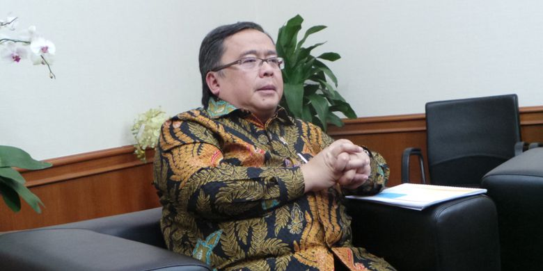Menteri Perencanaan Pembangunan Nasional atau Kepala Bappenas Bambang Brodjonegoro, saat wawancara bersama Kompas.com, Rabu (10/5/2017)