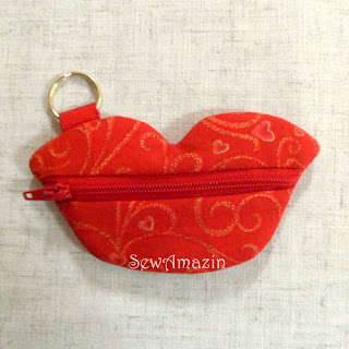 Lips Coin Purse, small