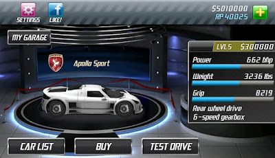 Drag Racing Classic MOD APK+DATA Unlimited Money v1.7.62 for Android Hack Terbaru 2018