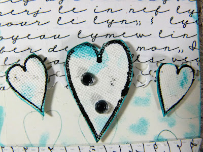 How to Create Wedding Themed  Tags With Hearty Doodles Stamps 3