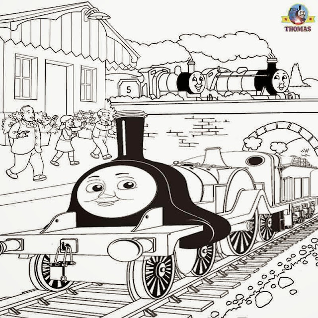 Thomas the Tank Engine coloring.filminspector.com