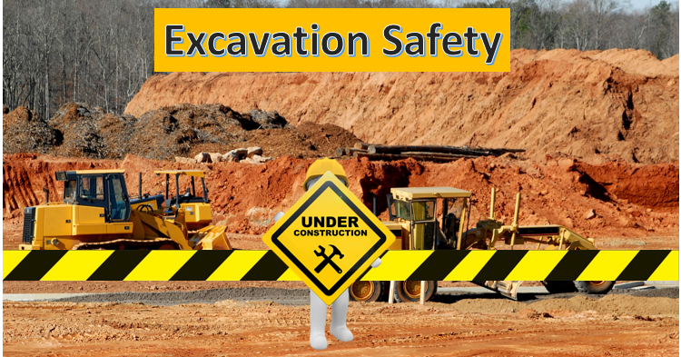 Excavation Safety Work Place Safety Health Safety And Environment Hse Post
