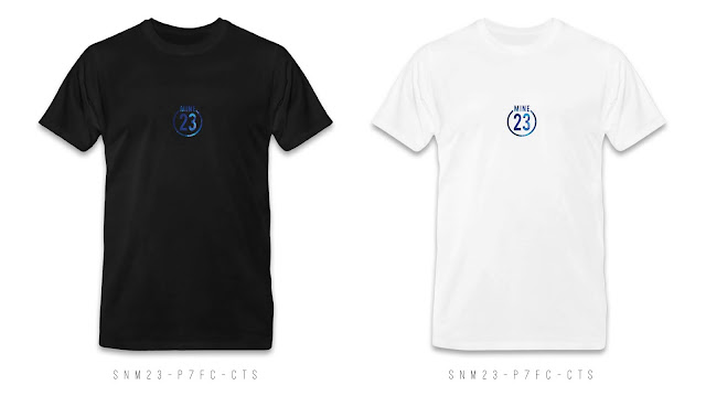 SNM23-P7FC-CTS Number & Name T Shirt Design, Custom T Shirt Printing