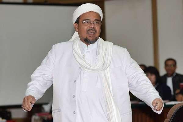 Tak Mau 'Nyapres', Habib Rizieq Shihab Hanya Ingin Jadi Guru Bangsa