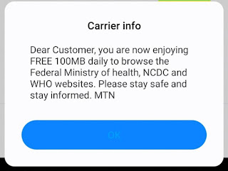 MTN 100mb Daily Free Browsing Cheat on Stark Vpn Reloaded!