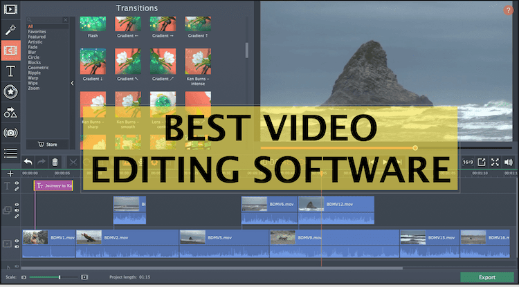 5 Best Video Editing Softwares In 2020
