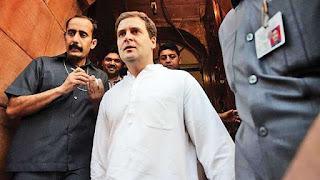 lok-sabha-adjourned-over-attack-on-rahul-gandhi-in-gujarat