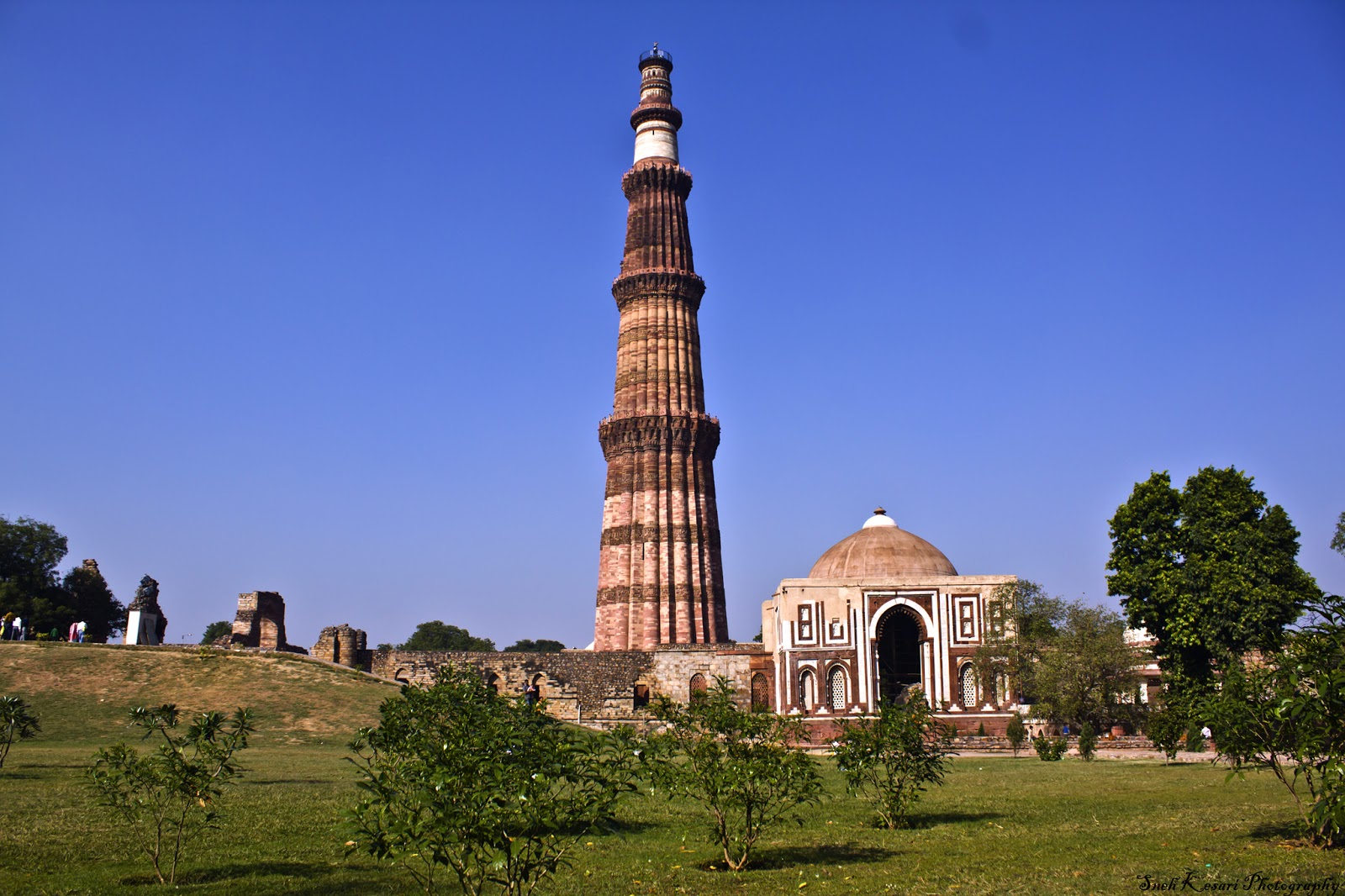Qutub Minar - Cycling Tracks in Delhi NCR