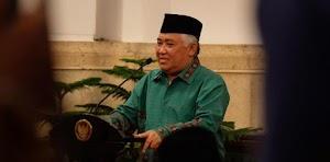 Din Syamsuddin: Mari Sambut Penolakan KAMI Dengan Senyuman