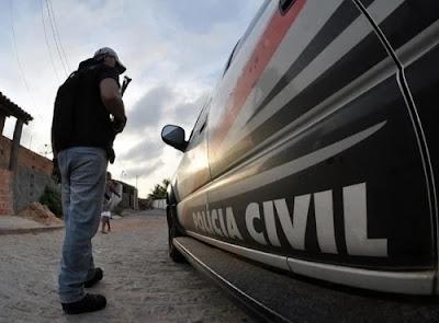 Polícia Civil cumpre mandado de prisão de suspeito de roubo majorado em Rosário do Catete