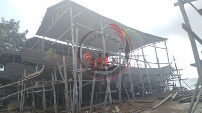 Kapal Phinisi Premium Ukuran 30 Meter