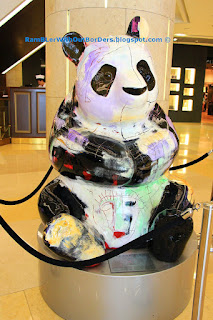 Ba Panda by Julien Marinetti, Sculpture, ION Orchard Shopping Mall, Singapore