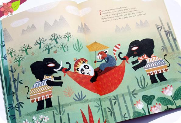 La reine Panda ne dort pas ! de Susanna Isern et Mariana Ruiz Johnson - Belin jeunesse