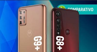 Moto G9 Plus vs Moto G8 Plus: