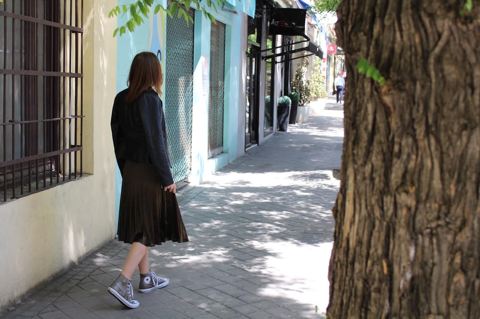 porter une jupe longue