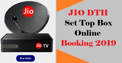 Jio Setup box Booking online