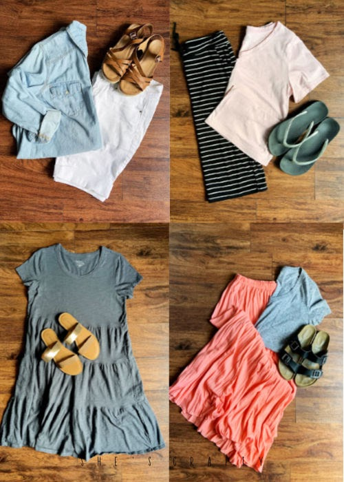 6 easy summer outfits for moms that are cool and comfortable