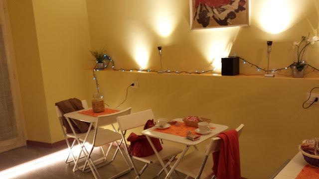 Villa Borghese Guest House sala colazione