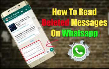 How to see Deleted Messages on WhatsApp?