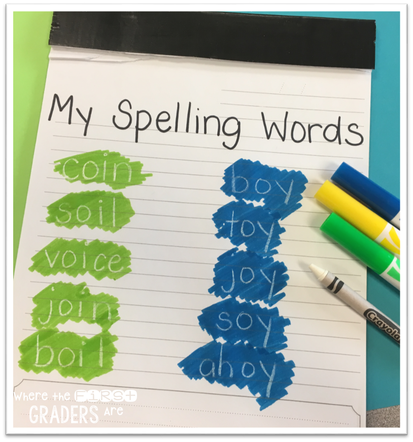 Spelling Series: Magic Words - Where the First Graders Are