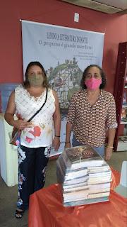 Cinnthya Varão vai a São Luís em busca de recursos e novos livros para a biblioteca municipal de Bom Jardim-MA