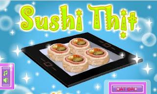 Chơi game sushi nhân thịt lạ ngon