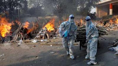 Mengerikan! Ada 4.000 Kematian karena Virus Corona di India dalam Sehari
