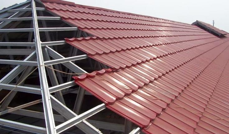 rangka atap baja ringan setengah kuda kelebihan konstruksi berbentuk