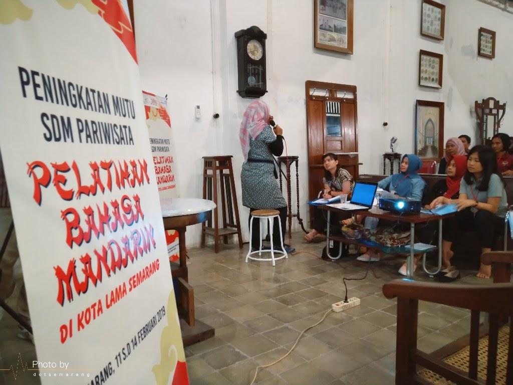 [Event] Menengok Pelatihan Bahasa Mandarin di Kota Lama Semarang Untuk Meningkatkan Mutu SDM Pariwisata