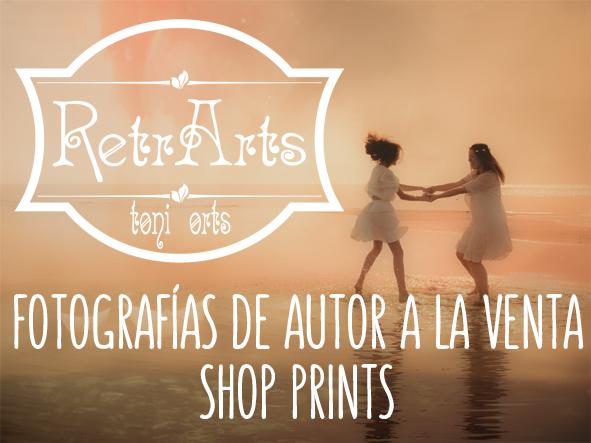 #RetrArts, Fotografía de autor a la venta